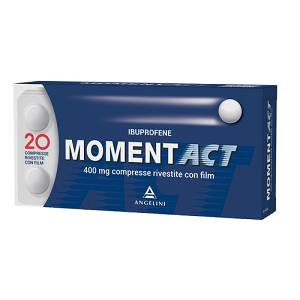 MOMENTACT 20cpr riv. 400mg